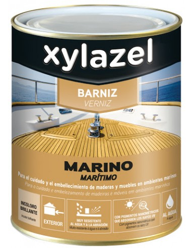 Barniz Marino al Agua Incoloro - Xylaxel