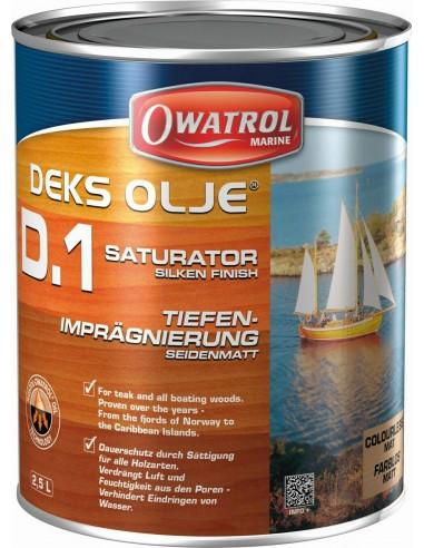 Saturador maderas exóticas - Owatrol D1 Deks Olje